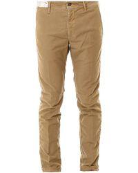 Incotex - Stretch Cotton Pants - Lyst