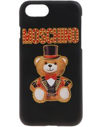 Moschino Cover Teddy Circus Per Iphone 6/6S/7/8 - Nero