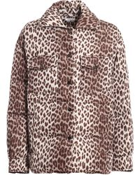 P.A.R.O.S.H. Animal Print Down Jacket - Multicolour