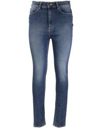 RED Valentino Faded Denim Jeans - Blue