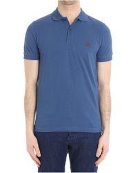 Brooks Brothers - Blue Cotton Polo - Lyst