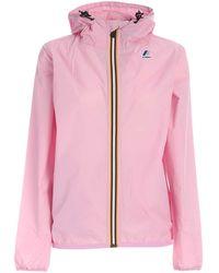 K-Way Le Vrai 3.0 Claude Jacket - Pink