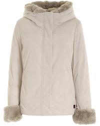 Woolrich Parka Luxury Boulder Bianco