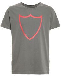 HTC Logo Print T-shirt - Grey