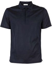 Paolo Pecora Cotton Jersey Polo Shirt - Blue
