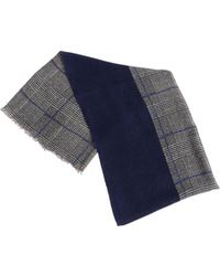 Altea - Prince Of Wales Printed Scarf - Lyst