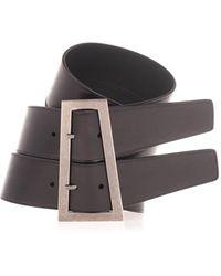 Saint Laurent Corset Belt - Black