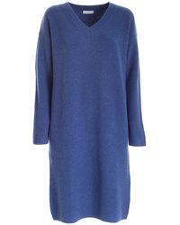 Ballantyne Alster Midi Dress - Blue