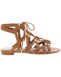 Guess Ramonda Sandals In Brown