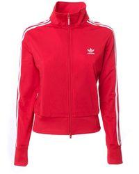 adidas Originals Track Sweatshirt - Red