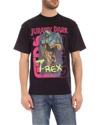 Gcds Jurassic Park T-rex Print T-shirt - Black