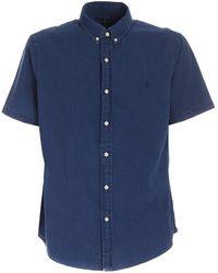 Ralph Lauren Short Sleeves Shirt - Blue