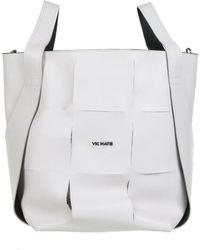 Vic Matié Nadege Bucket Bag - White