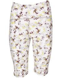 adidas Floral Printed Cyclists - White