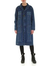 Vivienne Westwood Anglomania Duster Overcoat - Blue