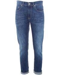 Dondup Mila Regular Jeans - Blue