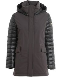 Colmar Quilted Sleeves Puffer Jacket - Grey