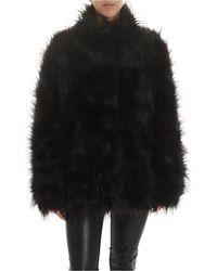 Rundholz Black Label Black Fur With Multicolour Details