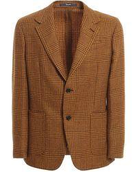 Drumohr Wool Blend Blazer - Multicolor