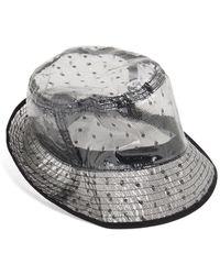 RED Valentino Valentino Garavani Point D'esprit Bucket Hat - Black