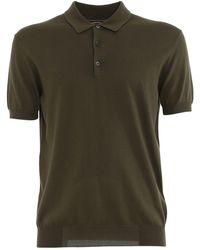 Baracuta Cotton Polo Shirt - Green