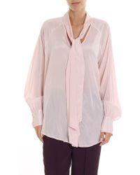 Ballantyne Pink Silk Shirt