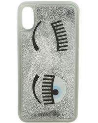 Chiara Ferragni Cover Flirting glitter liquid argento - Metallizzato