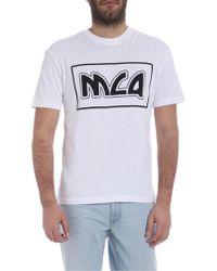McQ - Mcq T-shirt In White - Lyst