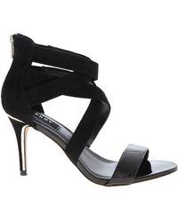 DKNY Iggi Sandals In Black