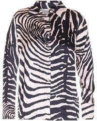 Jucca Tiger Print Shirt - Multicolour