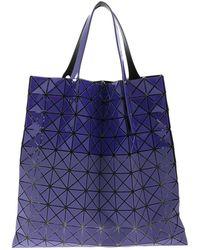 Bao Bao Issey Miyake Prism Bi-texture Bag - Purple