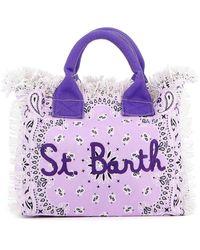 Mc2 Saint Barth Borsa Da Mare - Viola