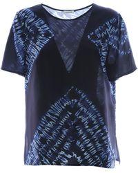 P.A.R.O.S.H. Tie Dye T-shirt Blue