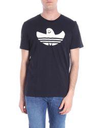 adidas - T-shirt Solid Shmoo nera - Lyst