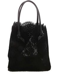 Ermanno Scervino Lace Handbag - Black