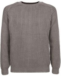 Dondup Wool Crewneck Sweater - Grey