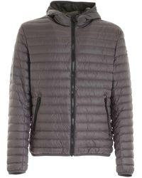 Colmar Logo Patch Down Jacket - Gray