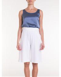 Max Mara Genero Bermuda Shorts - White