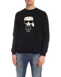 Karl Lagerfeld Ikonik Sweatshirt - Black