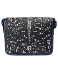 John Richmond Golden Studs Detailed Bag - Black