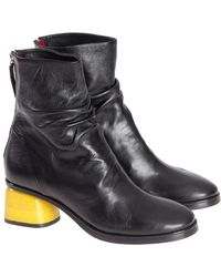 Halmanera - Leather Ankle Boots - Lyst