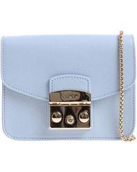 Furla - Light-blue Metropolis Bag - Lyst
