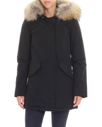 Woolrich - Black Artic Parka Down Jacket - Lyst
