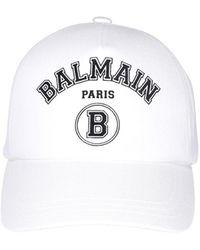 Balmain Cappello Bianco