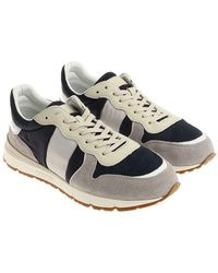 Woolrich - Gray And Blue Sneakers - Lyst