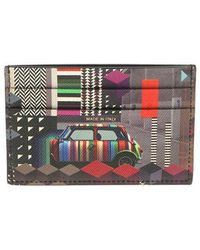 Paul Smith - Geometric Mini Cards Holder - Lyst