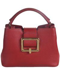 Bally Jorah Handbag - Red