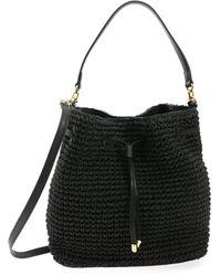 Lauren by Ralph Lauren Debby Bucket Bag - Black
