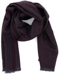 Corneliani Virgin Wool Scarf - Grey