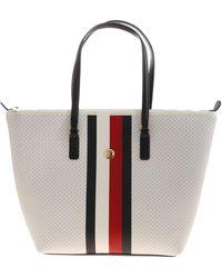 Tommy Hilfiger Poppy Tote Bag - White